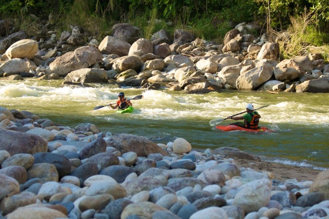 Barinas, Venezuela. Rafting